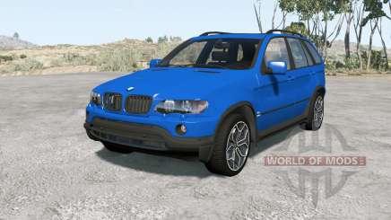 BMW X5 (E53) 200Ձ for BeamNG Drive