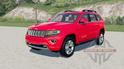 Jeep Grand Cherokee Limited (WK2) 2014 for Farming Simulator 2017