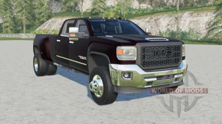 GMC Sierra 3500 HD Denali Crew Cab 2015 v1.4 for Farming Simulator 2017