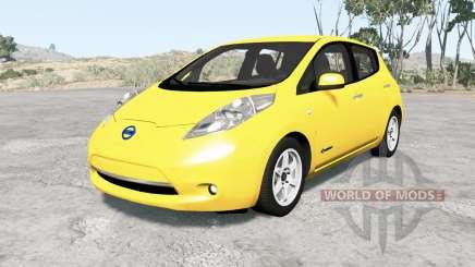 Nissan Leaf 2014 v1.1 for BeamNG Drive