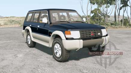 Mitsubishi Pajero Wagon 1993 for BeamNG Drive