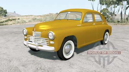 Gaz M-20 Victory 1949 for BeamNG Drive