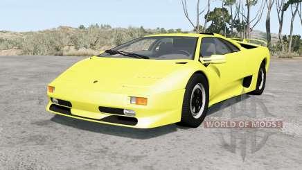 Lamborghini Diablo SV 1998 for BeamNG Drive