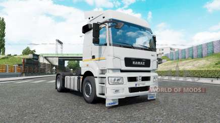 Kamaz 5490 and 65206 for Euro Truck Simulator 2