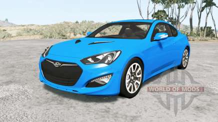 Hyundai Genesis coupe 2013 v1.1 for BeamNG Drive