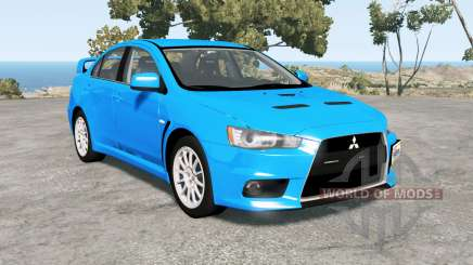 Mitsubishi Lancer Evolution X GSR (CZ4A) for BeamNG Drive