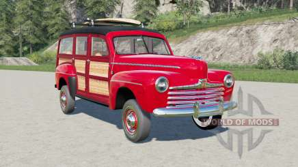 Ford V8 Super Deluxe Station Wagon for Farming Simulator 2017