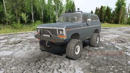 Ford Bronco for MudRunner