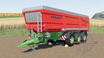 Joskin Trans-Space 8000-27TRC150 for Farming Simulator 2017