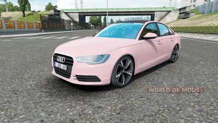 Audi A6 sedan (C7) 2011 for Euro Truck Simulator 2
