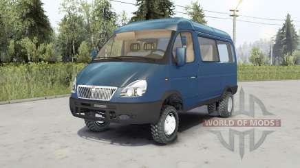 Gaz-27527 Sobol 4x4 for Spin Tires