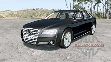 Audi A8 L quattro (D4) 2010 for BeamNG Drive