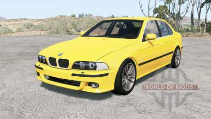 BMW M5 (E3୨) 2001 for BeamNG Drive