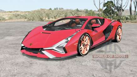 Lamborghini Sian FKP 37 2019 for BeamNG Drive