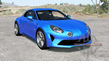 Alpine A110 Premiere Edition 2018 for BeamNG Drive