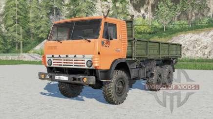 Kamaz-4ვ10 for Farming Simulator 2017