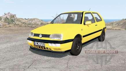 Volkswagen Golf 3-door (Typ 1H) 1995 for BeamNG Drive