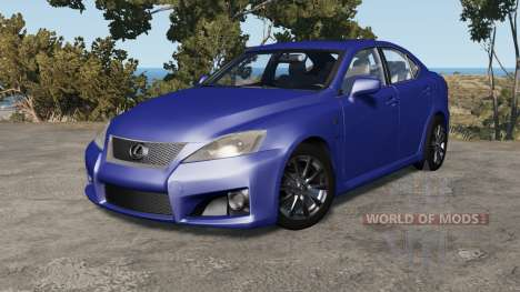 Lexus IS F (XE20) 2008 for BeamNG Drive