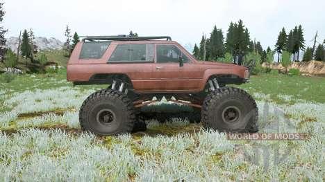 Toyota 4Runner (LN61) lifted for Spintires MudRunner