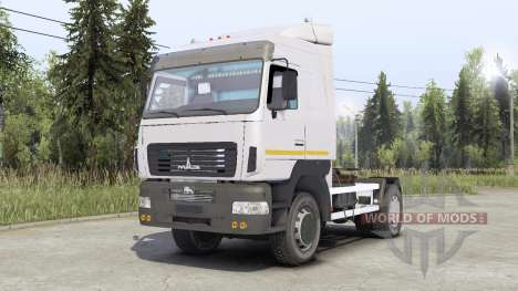 MAz-5440 for Spin Tires