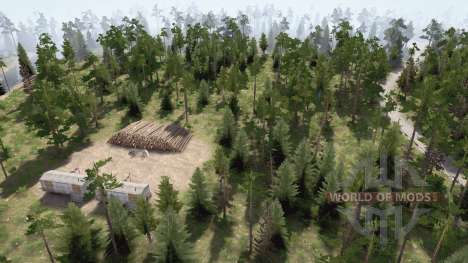 Into the woods on mushrooms for Spintires MudRunner