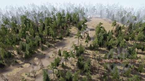 Ural 9: Abandoned Sawmills for Spintires MudRunner