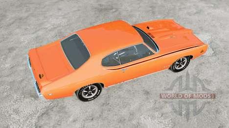 Pontiac GTO The Judge 1969 for BeamNG Drive
