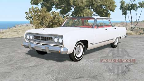 Gavril Bluebuck Flat Top for BeamNG Drive