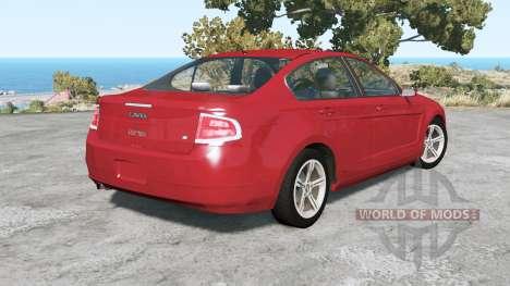 Ford Focus sedan (NA2) 2008 v1.3 for BeamNG Drive