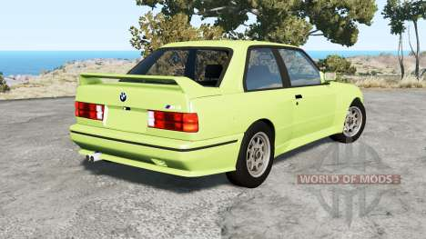 BMW M3 coupe (E30) 1990 for BeamNG Drive