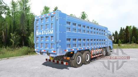 Shacman X3000 8x4 for Spintires MudRunner