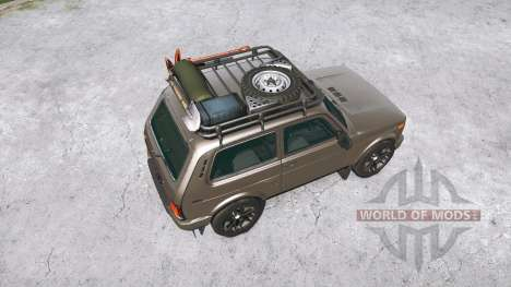 Lada 4x4 (21214) for Spintires MudRunner
