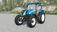New Holland T6-seriꬴs for Farming Simulator 2017
