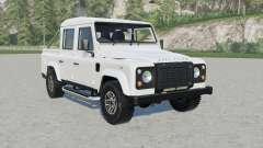 Land Rover Defender 110 Double Cab Pickup for Farming Simulator 2017