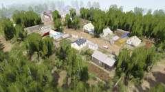 Ural 10: Village v1.1 for MudRunner