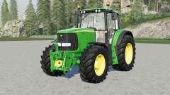 John Deere 6020-seriⱸs for Farming Simulator 2017