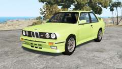 BMW M3 coupe (E30) 1990 v1.18 for BeamNG Drive