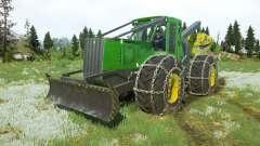 John Deere 748H v1.1 for MudRunner