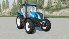 New Holland T6-seriᶒs for Farming Simulator 2017