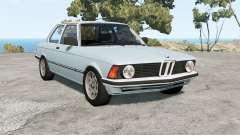 BMW 316 (E21) 1975 for BeamNG Drive