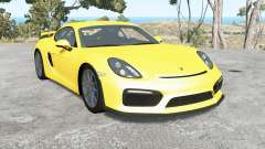 Porsche Cayman GT4 (981C) 201ⴝ for BeamNG Drive