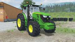 John Deere 6170R & 6210Ꞧ for Farming Simulator 2013