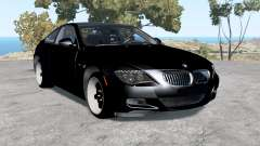 BMW M6 coupe (E63) 2009 for BeamNG Drive