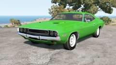 Dodge Challenger RT hardtop (JS-23) 1970 for BeamNG Drive