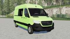 Mercedes-Benz Sprinter 319 CDI Panel Van 201୨ for Farming Simulator 2017