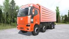 FAW Jiefang J6P 8x8 Dump Truck for MudRunner