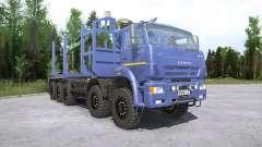 Kamaz-7330 for MudRunner