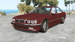 BMW 750iL (E38) 1998 v1.18 for BeamNG Drive