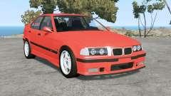 BMW M3 sedan (E36) 1997 v1.18 for BeamNG Drive