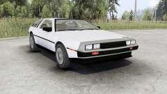 DeLorean DMC-12 for Spin Tires